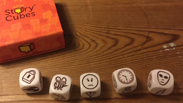 Making an animated movie using StoryCubes