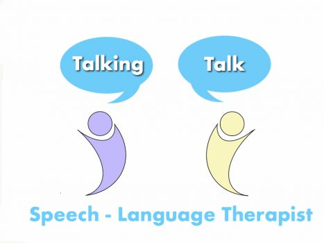 Logo for Talking Talk speech language therapist.